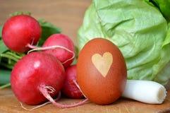 复活节食物 免版税库存图片