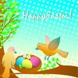 复活节鸟 皇族释放例证