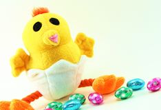 复活节鸡 库存图片