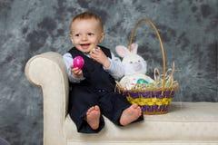 复活节婴孩 库存图片