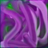 复活节紫色水彩 免版税库存图片