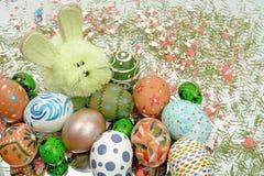 复活节宴餐的装饰  免版税库存图片