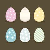 复活节egg6 库存照片
