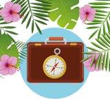夏天、旅行和假期 免版税库存照片