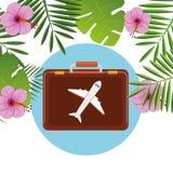 夏天、旅行和假期 库存照片