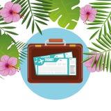 夏天、旅行和假期 免版税库存图片