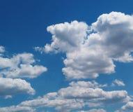 夏天云彩瞄准 库存照片