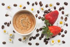 夏天咖啡 免版税库存图片