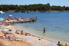 夏天在克罗地亚 免版税图库摄影