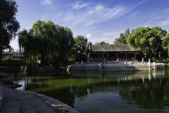 夏天在北京龙潭公园 免版税图库摄影