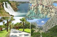 夏天在土耳其,安塔利亚 库存图片