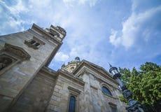 夏天在布达佩斯 图库摄影