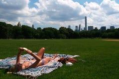 夏天在纽约 免版税库存图片