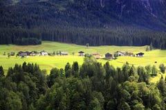 夏天在阿尔卑斯 免版税库存照片