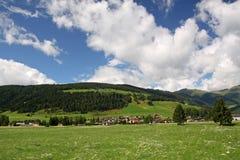 夏天在阿尔卑斯 库存照片