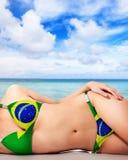 夏天在巴西 图库摄影