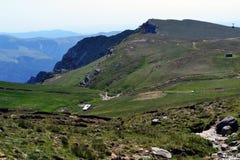 夏天在Bucegi 免版税库存图片