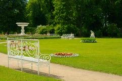 夏天在Tsarskoe Selo公园  库存照片