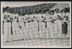 1936夏天奥林匹克运动德国 库存照片