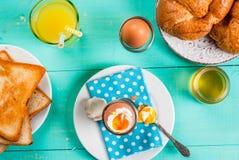 夏天或春天轻快早餐 库存图片
