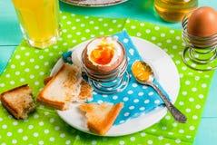 夏天或春天轻快早餐 免版税图库摄影