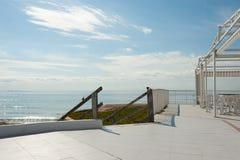 夏天晴朗的大阳台 库存图片