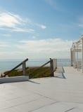 夏天晴朗的大阳台 免版税库存照片