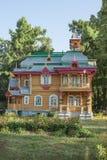 `夏天村庄Bugrov `博物馆中心 Volodarsk 库存照片
