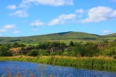夏天横向在苏格兰 库存照片