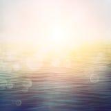 夏天海洋 免版税库存图片