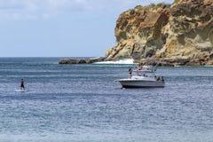夏天海滩假期 免版税库存图片