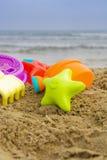 夏天海滩 库存照片