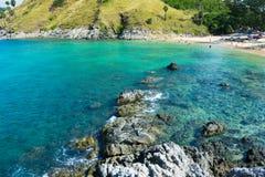 夏天海滩普吉岛泰国 库存图片