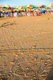 夏天海滩,海公园,广东,中国 库存图片