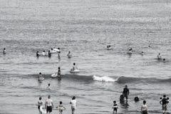 夏天海滩/Shonan海岸 库存图片