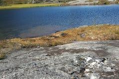 夏天渔在挪威 免版税库存图片