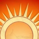 夏天背景。 免版税库存图片