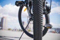 夏天自行车乘驾 免版税库存照片
