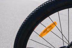 夏天自行车乘驾 库存照片