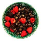 夏天莓果混合 库存图片