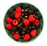 夏天莓果混合 免版税库存图片