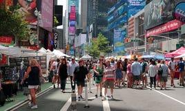 夏天街道公平在纽约 图库摄影