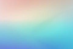 夏天设计的简单的淡色蓝色紫色桃红色梯度背景 图库摄影