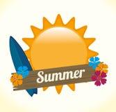夏天设计 库存照片