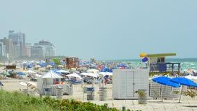 夏天迈阿密海滩 股票录像