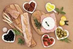 夏天野餐食物 库存图片