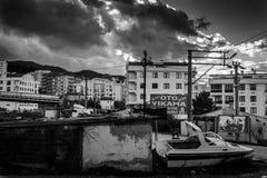 夏天镇街道在国家土耳其 库存照片