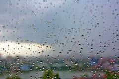 夏天雨 图库摄影