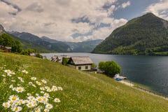 夏天风景,奥地利 图库摄影