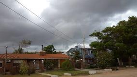 夏天风暴,乌拉圭 免版税库存图片